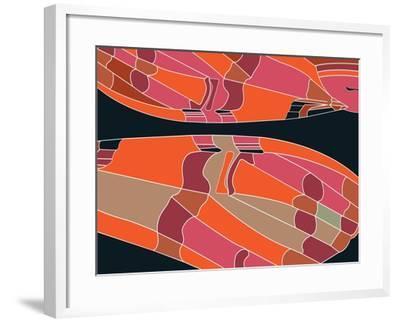 Tiffany Sherbet-Belen Mena-Framed Giclee Print