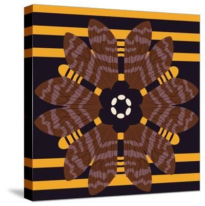 Daisy Bee-Belen Mena-Stretched Canvas Print