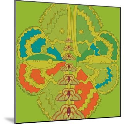 Lime Green Zuca Fantasy-Belen Mena-Mounted Giclee Print