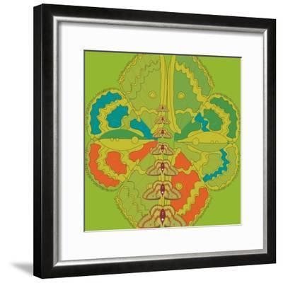 Lime Green Zuca Fantasy-Belen Mena-Framed Giclee Print