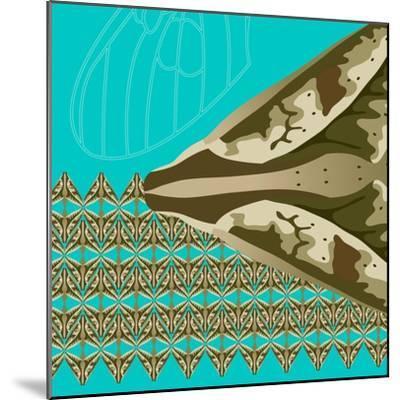 Turquoise Kai-Belen Mena-Mounted Giclee Print