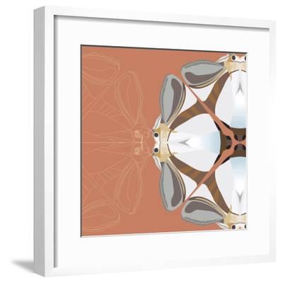 Moth Meditation-Belen Mena-Framed Giclee Print