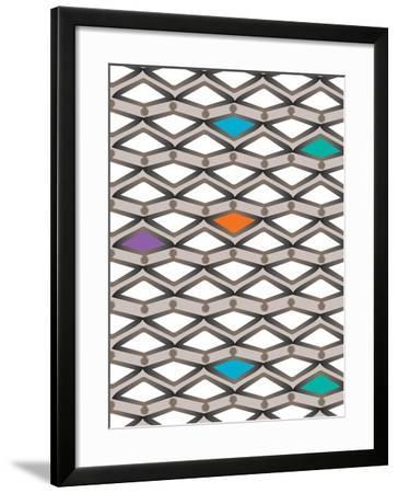 Orange Trap in the Middle-Belen Mena-Framed Giclee Print