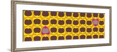 Two Pink Poms-Belen Mena-Framed Giclee Print
