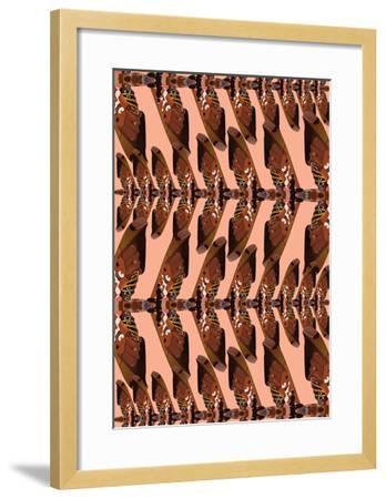 Flock in Flight-Belen Mena-Framed Giclee Print