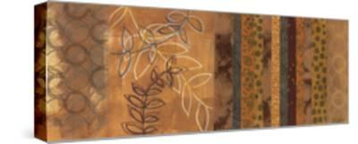 Golden Connection I - mini-Jeni Lee-Stretched Canvas Print