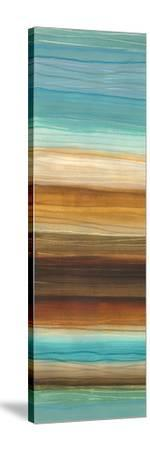 Illumine I - Stripes, Layers-Jeni Lee-Stretched Canvas Print
