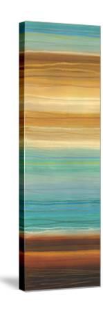 Illumine II - Stripes, Layers-Jeni Lee-Stretched Canvas Print