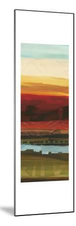 Skyline Symmetry Panel II - Stripes, Layers-Jeni Lee-Mounted Premium Giclee Print