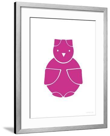 Fuschia Owl-Avalisa-Framed Art Print