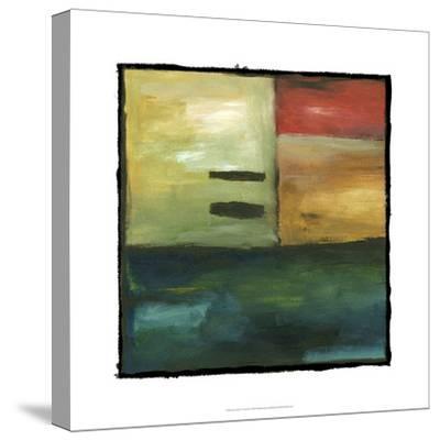 Jazz Session VI-Chariklia Zarris-Stretched Canvas Print