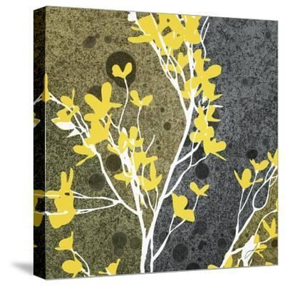 Moon Flowers II-James Burghardt-Stretched Canvas Print