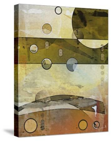 Thru the Atmosphere II-James Burghardt-Stretched Canvas Print