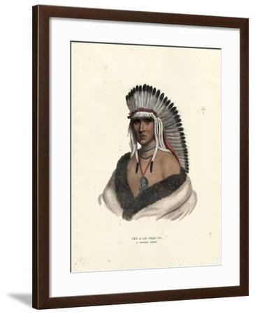 Pawnee Brave-McKenney & Hall-Framed Art Print
