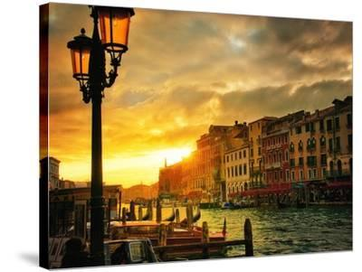 Venice in Light IV-Danny Head-Stretched Canvas Print