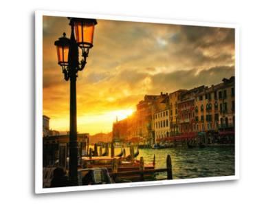 Venice in Light IV-Danny Head-Metal Print