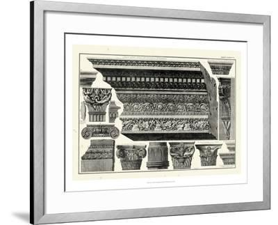 Cornice et Damiani-Giovanni Battista Piranesi-Framed Art Print