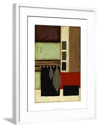 Sophisticated Serenity VI-Jennifer Goldberger-Framed Art Print