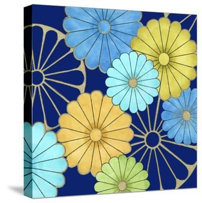 Floral Confetti IV-Erica J^ Vess-Stretched Canvas Print