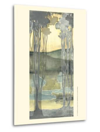 Small Nouveau Landscape I-Jennifer Goldberger-Metal Print