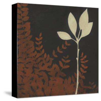 Garden Cameo I-Erica J^ Vess-Stretched Canvas Print