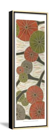 Morning Glories III-Karen Deans-Framed Stretched Canvas Print