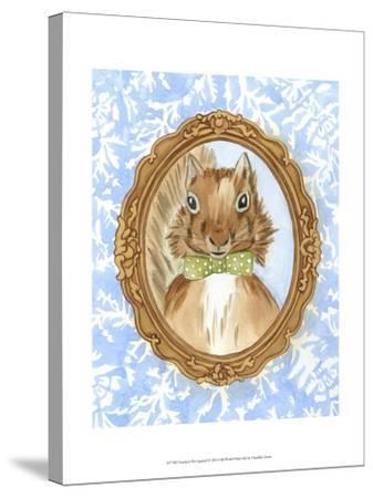Teacher's Pet - Squirrel-Chariklia Zarris-Stretched Canvas Print