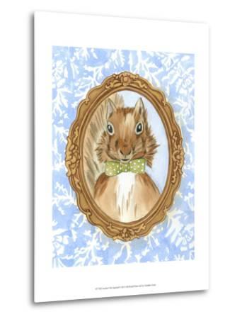 Teacher's Pet - Squirrel-Chariklia Zarris-Metal Print