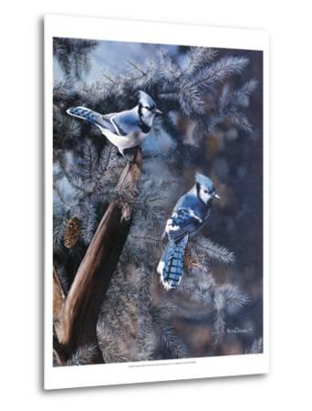 A Touch of Blue-Kevin Daniel-Metal Print