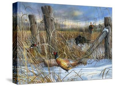 Corner Post-Kevin Daniel-Stretched Canvas Print