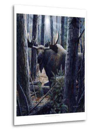 King of the Northwoods-Kevin Daniel-Metal Print