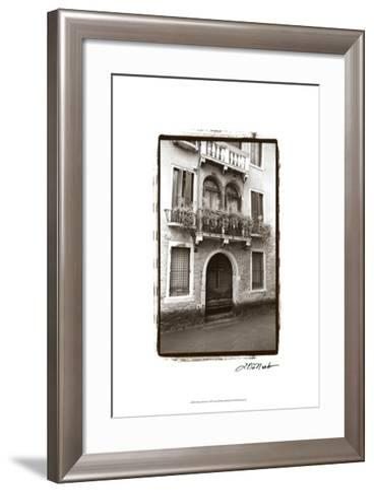 Balcony Doorway-Laura Denardo-Framed Art Print