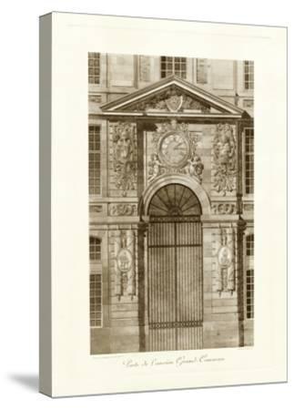 Ornamental Door II-Marcel Lambert-Stretched Canvas Print