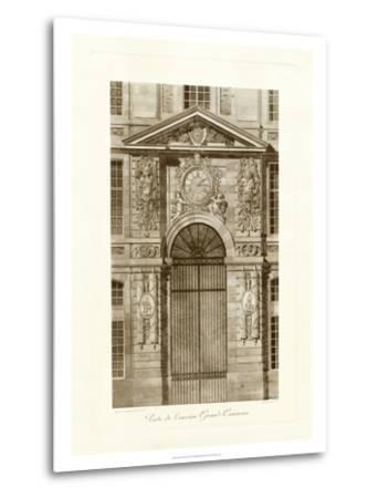 Ornamental Door II-Marcel Lambert-Metal Print