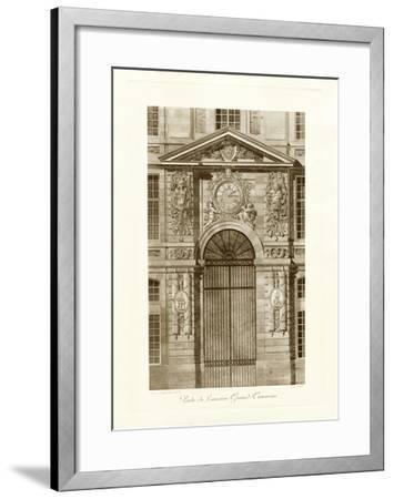 Ornamental Door II-Marcel Lambert-Framed Art Print