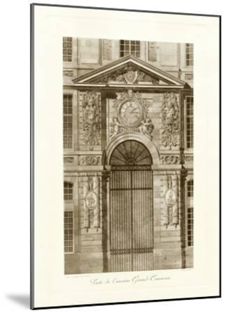 Ornamental Door II-Marcel Lambert-Mounted Art Print