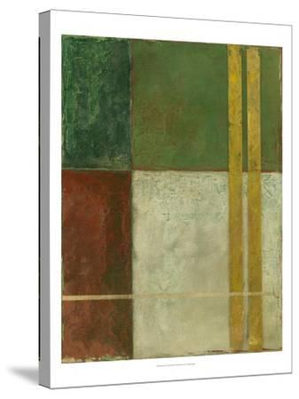 Red, Green, Gold II-Megan Meagher-Stretched Canvas Print