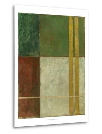 Red, Green, Gold II-Megan Meagher-Metal Print