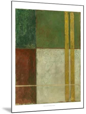 Red, Green, Gold II-Megan Meagher-Mounted Art Print