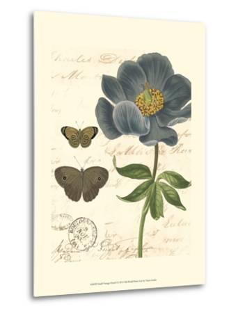 Small Vintage Floral I--Metal Print