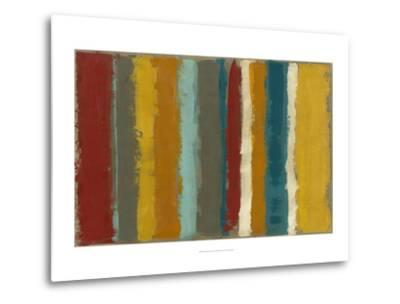Vibrant Striation I-Megan Meagher-Metal Print