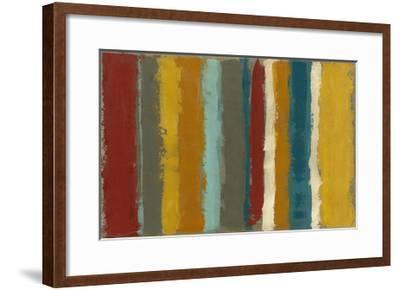 Vibrant Striation I-Megan Meagher-Framed Art Print