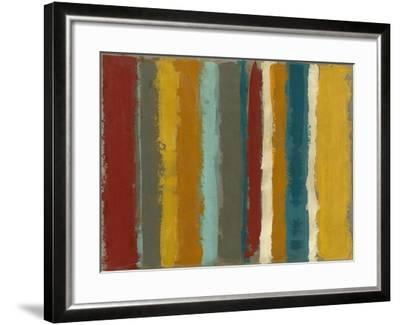 Vibrant Striation I-Megan Meagher-Framed Art Print