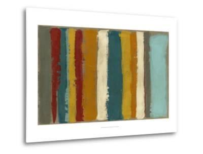 Vibrant Striation II-Megan Meagher-Metal Print