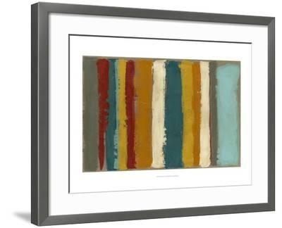 Vibrant Striation II-Megan Meagher-Framed Art Print