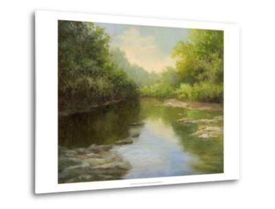 O'Bannon Summer Creek-Mary Jean Weber-Metal Print