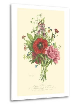 Plentiful Bouquet II-T^L^ Prevost-Metal Print