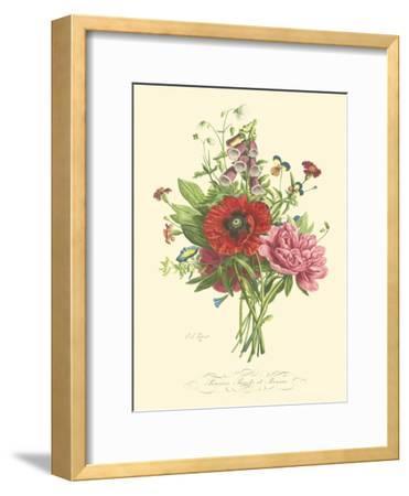 Plentiful Bouquet II-T^L^ Prevost-Framed Art Print