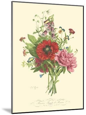 Plentiful Bouquet II-T^L^ Prevost-Mounted Art Print