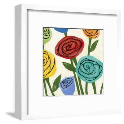 Pop Roses I-Megan Meagher-Framed Art Print